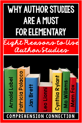 Author studies are not your teacher's story time. They are meaty and fun for rich experiences and critical thinking. Check out this post to learn more.
