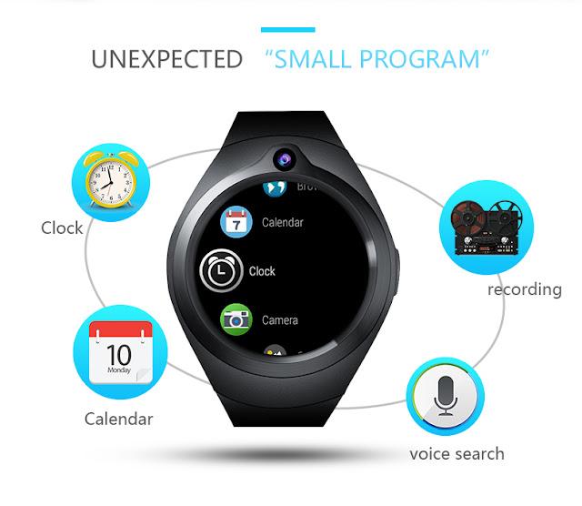 Bakeey ZGPAX S216  3G SmartWatch Specs
