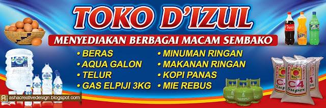 5 Contoh Banner Toko Sembako Yang Menarik - Contoh Banner