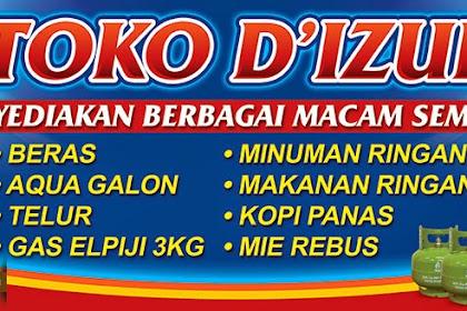10+ Best For Contoh Spanduk Toko Kelontong