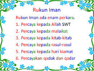 5 Rukun Islam Dan 6 Rukun Iman Serta Penjelasannya