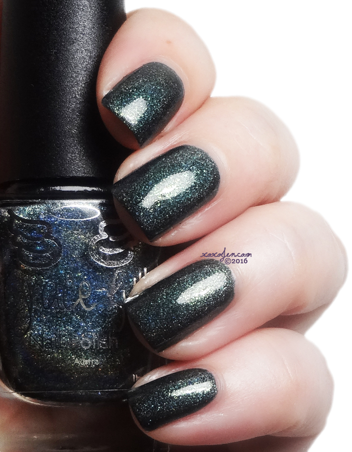xoxoJen's swatch of Grace-full Olive Evergreen