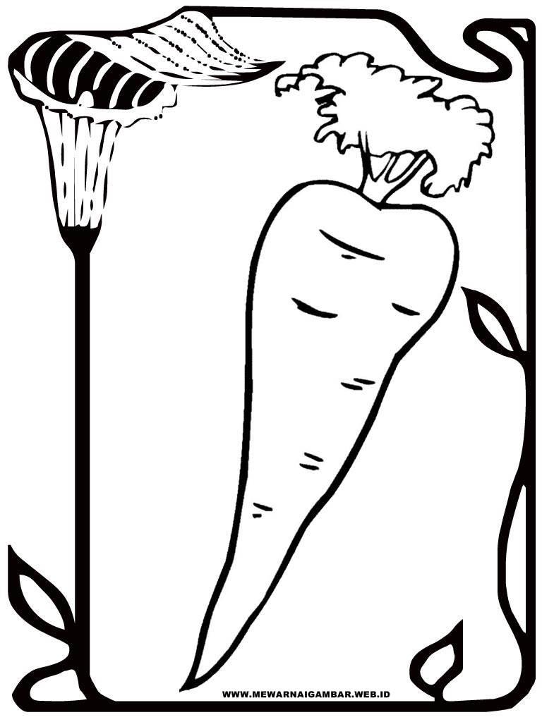 75+ Gambar Animasi Wortel Terlihat Keren