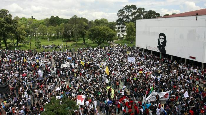 Resultado de imagen para movilización estudiantil en colombia