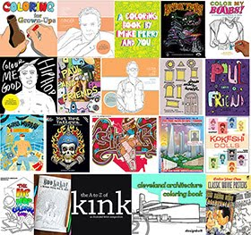 Coolest Coloring Books For Adults