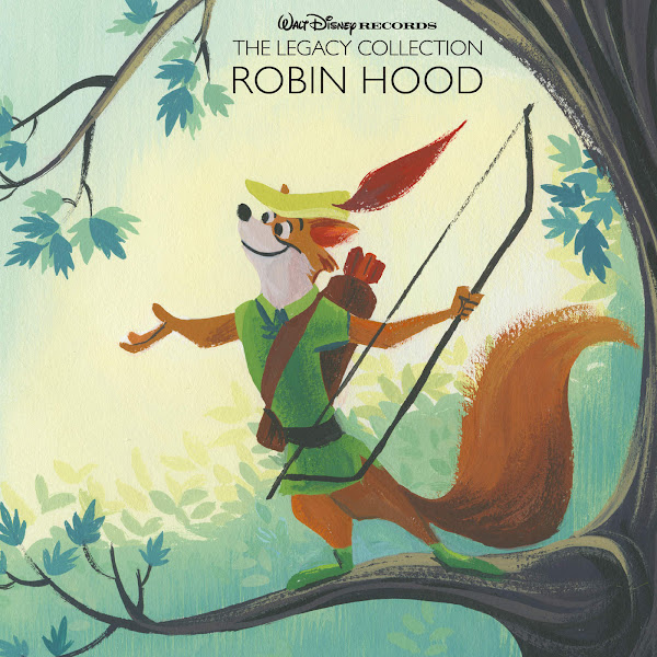 Various Artists - Walt Disney Records the Legacy Collection: Robin Hood Cover