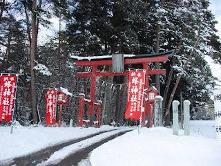 思い出の初詣 蜂神社に到着