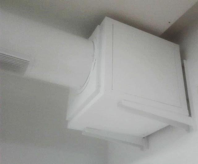 foto motor en caja de extracción aire de locales