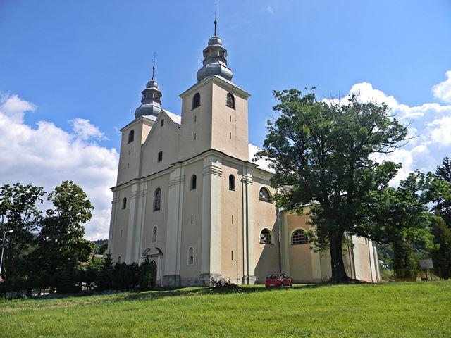mury kościoła, zwiedzanie, welon Marii Antoniny, Śnieżnik