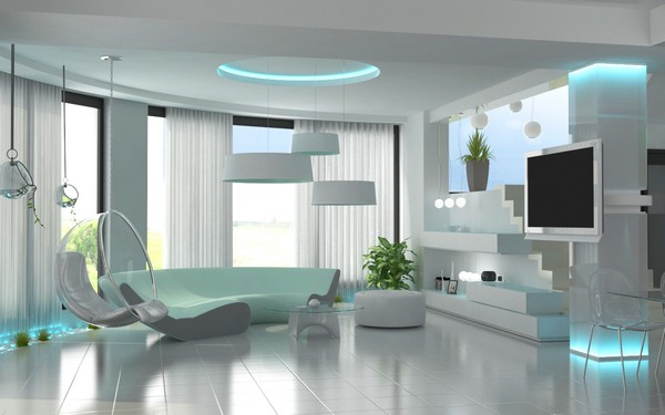 Modern Living Room Design 2014
