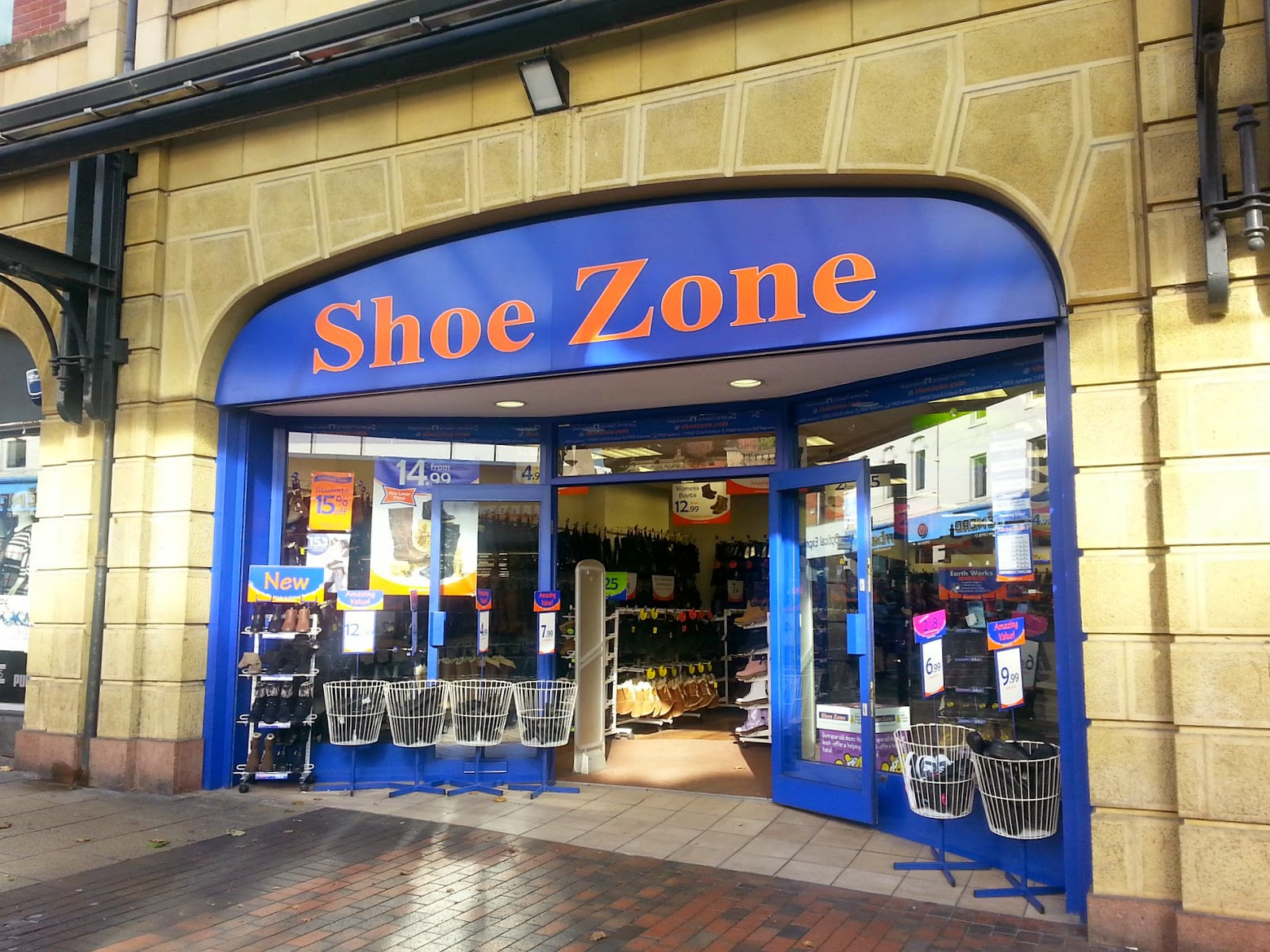 Shoe Zone affordable shoes, lady shoes, kids shoes