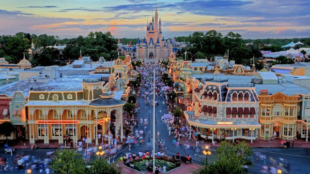 Main Street USA, a entrada do Magic Kingdom