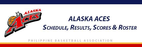 PBA: Alaska Aces Schedule, Results, Scores, Roster