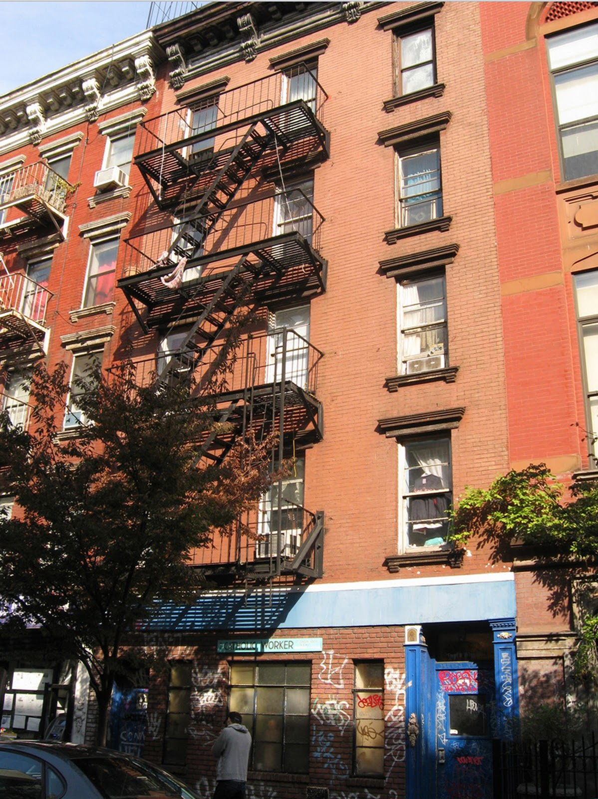 Catholic Worker News: In The East Village, Christian ...