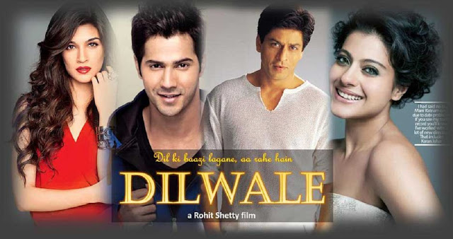 Dilwale Movie 2015 Poster