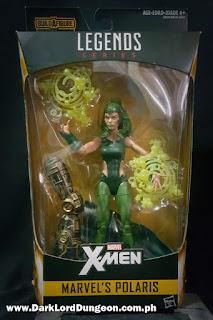 Marvel Legends Lorna Dane - Polaris - Action Figure Packaging
