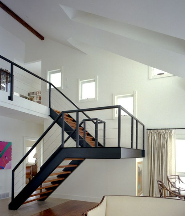 10 mẫu thiết kế cầu thang thép: kiểu dáng đẹp, bền và vững chắc