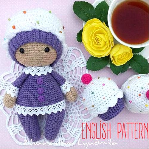 Amigurumi Cupcake Baby - Free Pattern
