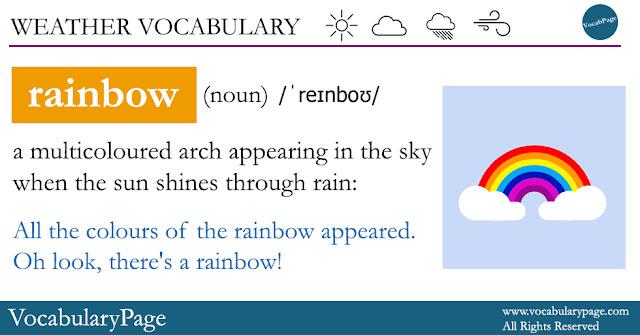 Rainbow definition