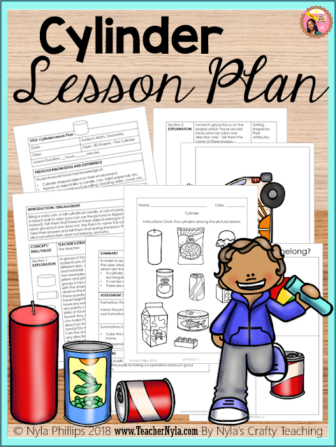 Cylinder Lesson Plan