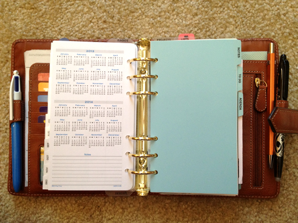 If Youre Thinking Of Using Personal Size Filofax Inserts Inside A Franklin Covey Binder Be Prepared For That Extra Space On The Sides