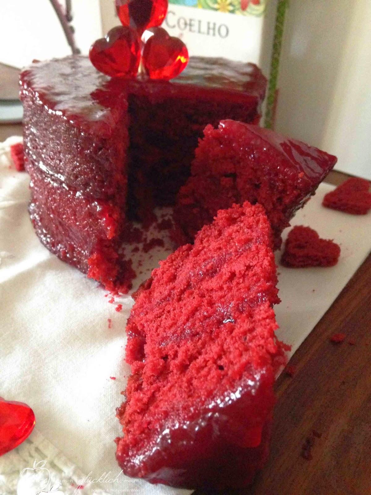 Red Velvet Cake Roter Samt Kuchen