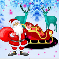 Games2rule Find The Christmas Chariot Walkthrough