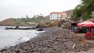 Fishing town of Cape Verde at the east