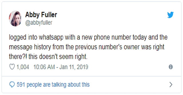 Waspada Ganti Nomor WhatsApp, Nanti Pesan Nyasar Ke Orang Lain !