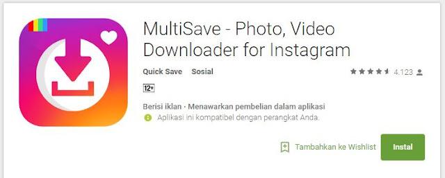 4 Aplikasi Download Video Instagram Android yang Paling Banyak Digunakan