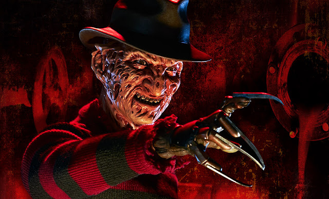 Freddy Kruger, A Nightmare on Elm Street, Robert Englund, Horror Movie Villains, Stephen King Store