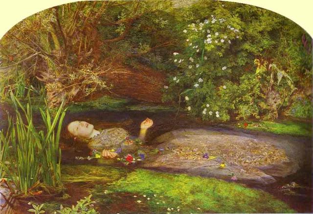 Ofelia: la pittura e la morte