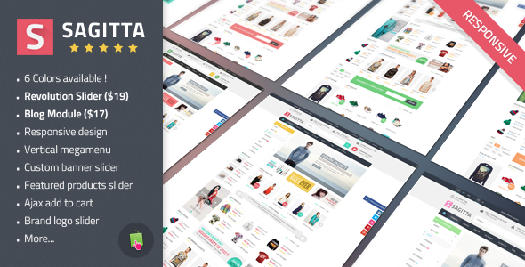 Clothes Store Responsive Prestashop Theme