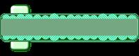 Faixa ondas verdes para blog - Criação Blog PNG-Free