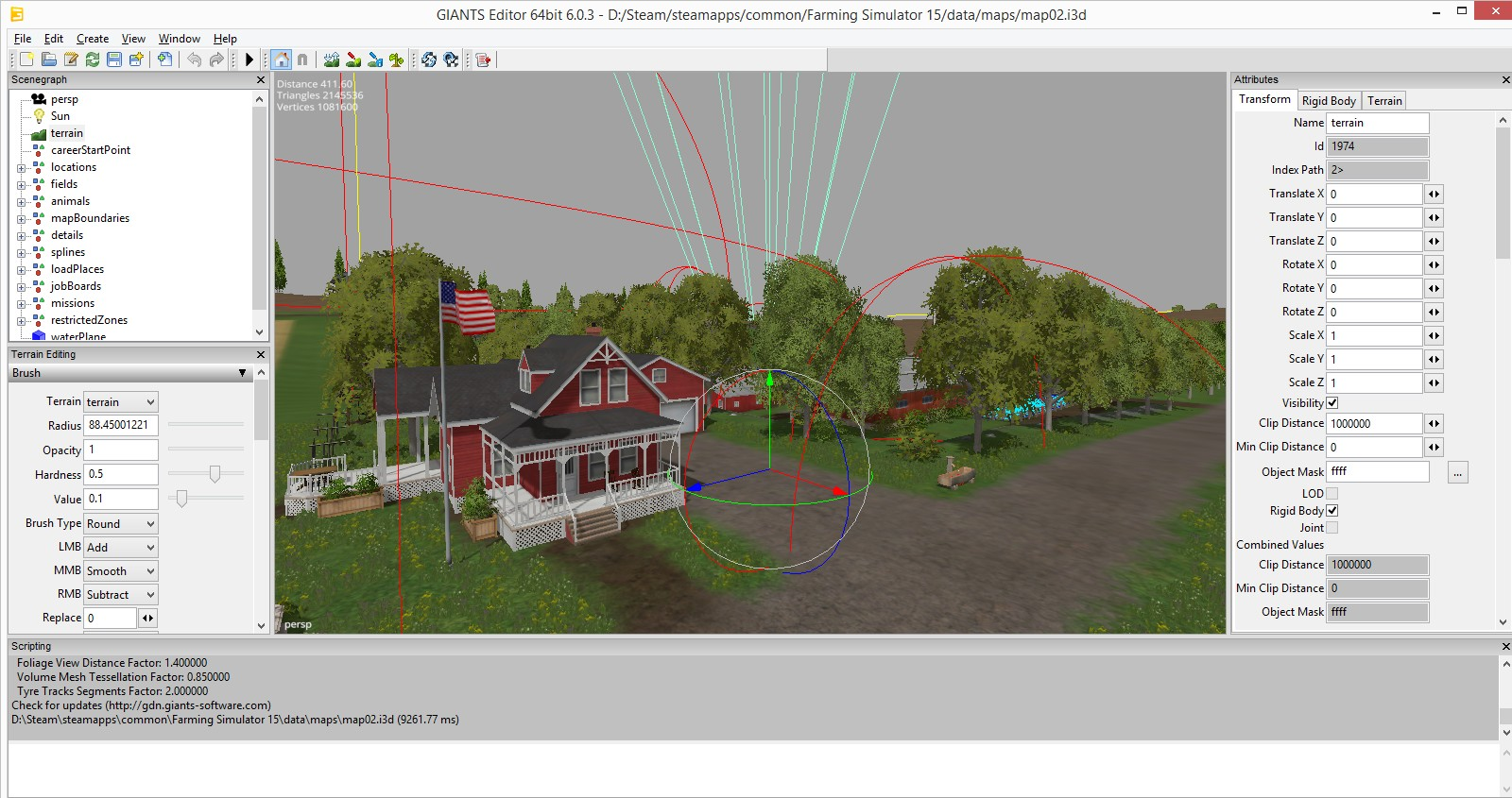 Farming Simulator 2017 Giants SDK featuring Editor 0