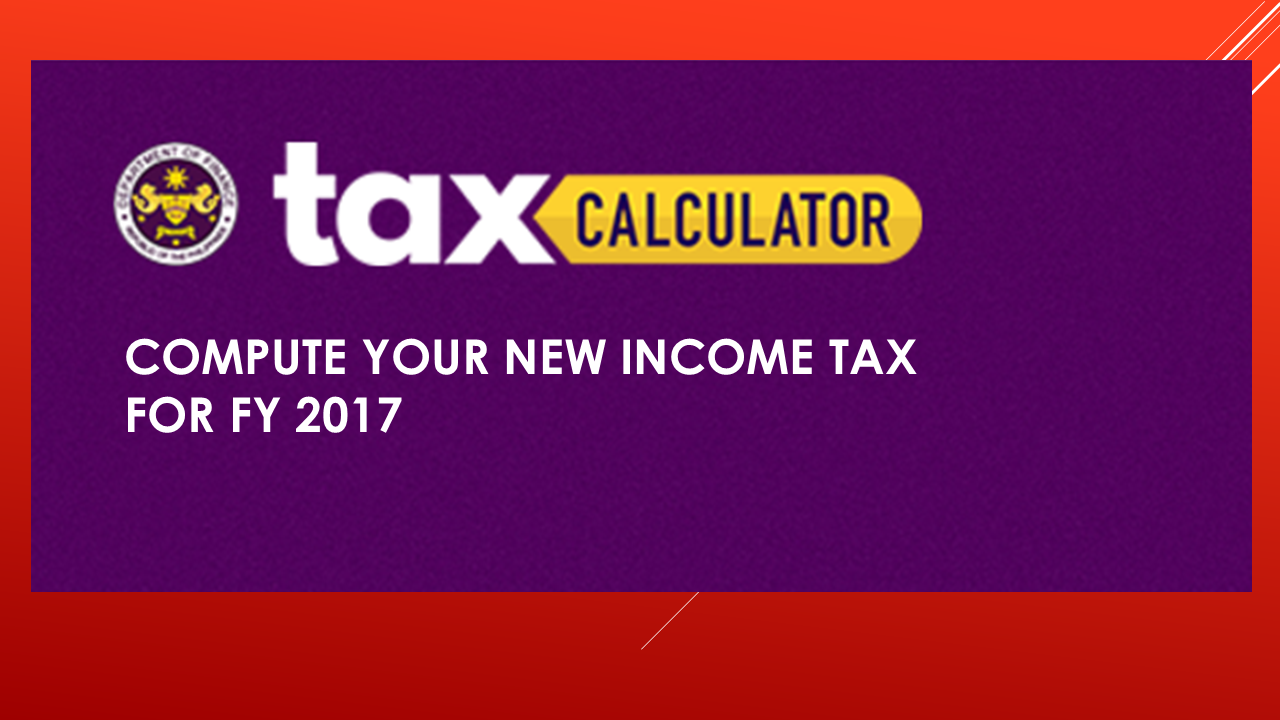 DOF Tax Calculator: Compute Your Income Tax