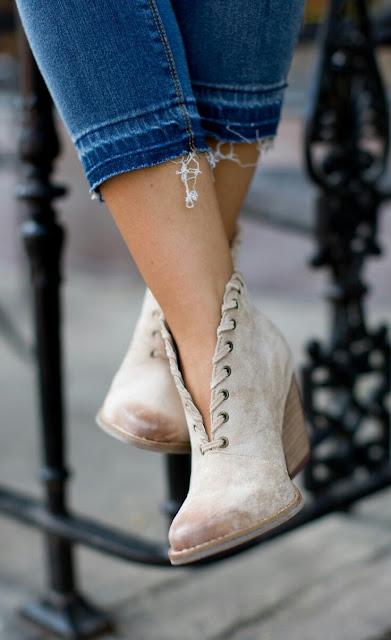 V spilt Heel