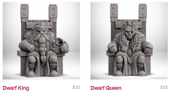 Ogres Now Available for Pre-Orders+ Dwarf King and Queen Released!