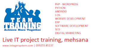 live project training in mehsana