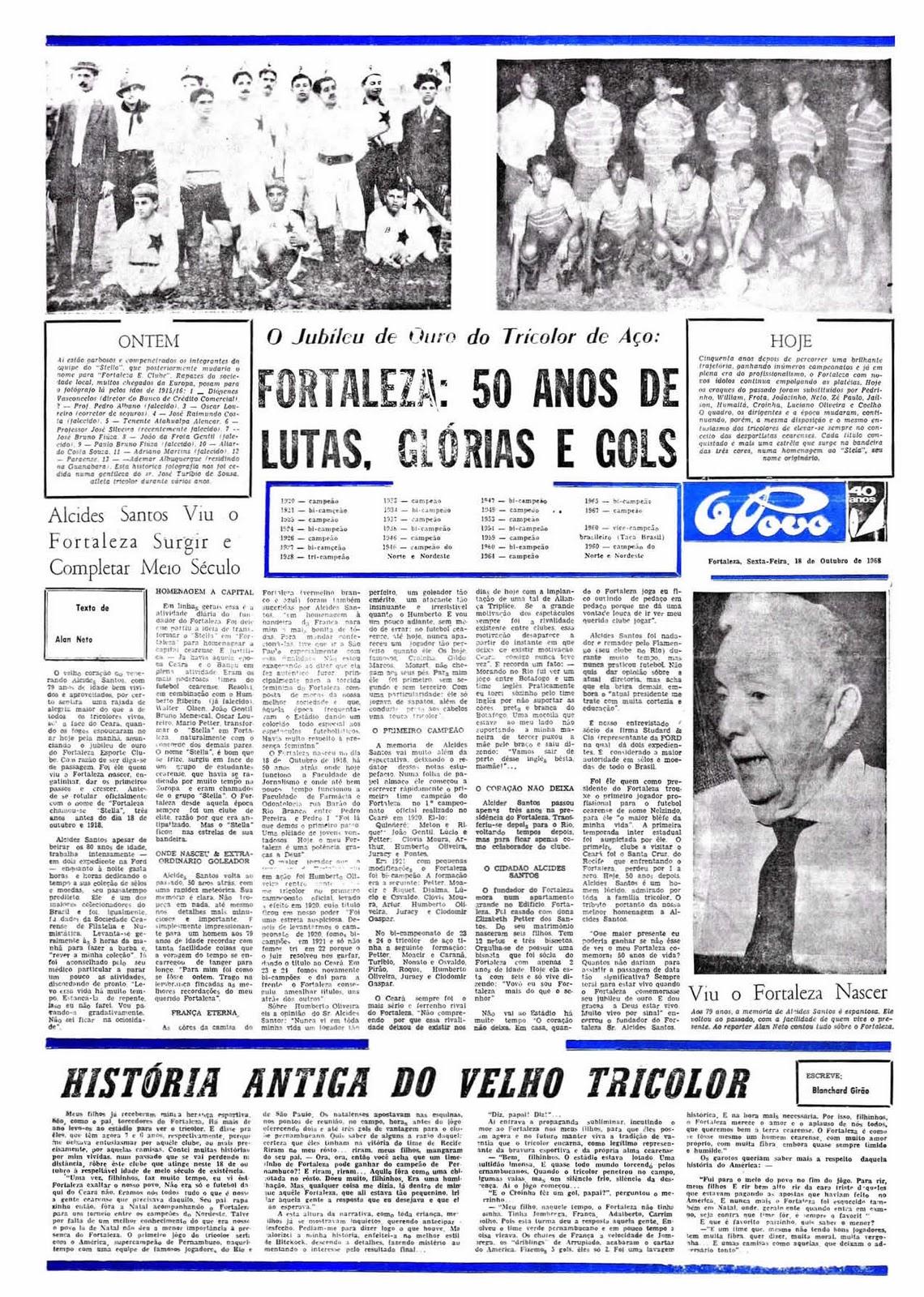 A matéria original publicada pelo Jornal O Povo. c18d1c269cfdd