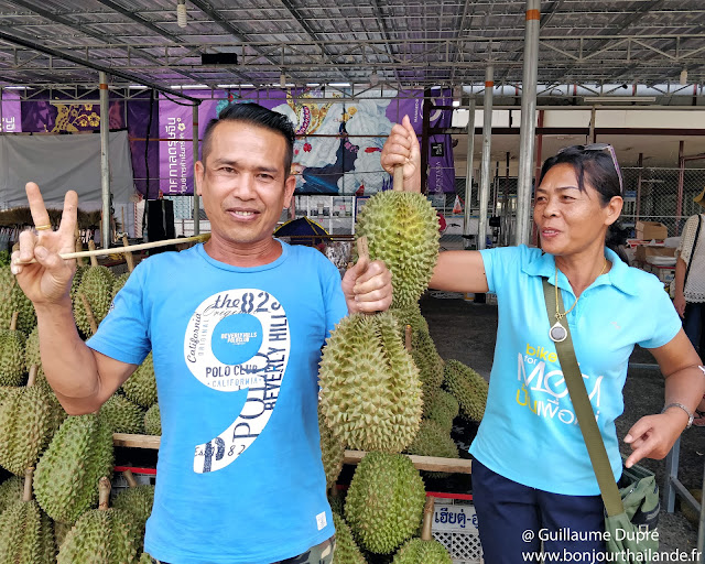 Durian en Thailande
