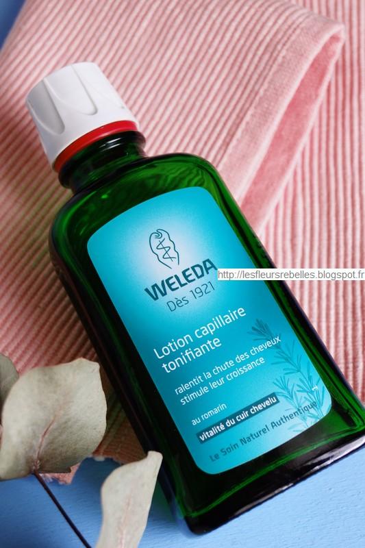 Soin bio Lotion capillaire tonifiante bio Weleda flacon 100ml