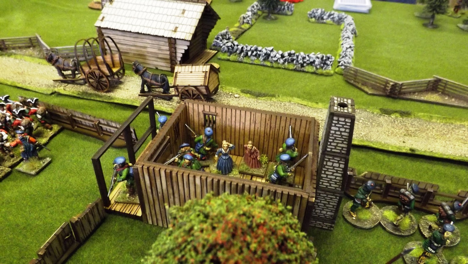 Topic: French Indian War using Donnybrook – Devon Wargames Group
