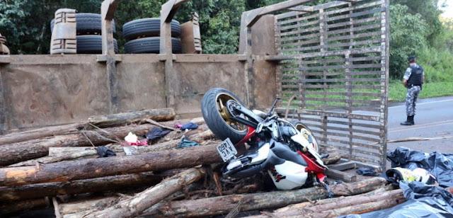 Pitanga: Acidente grave na PR-466 tira a vida de casal