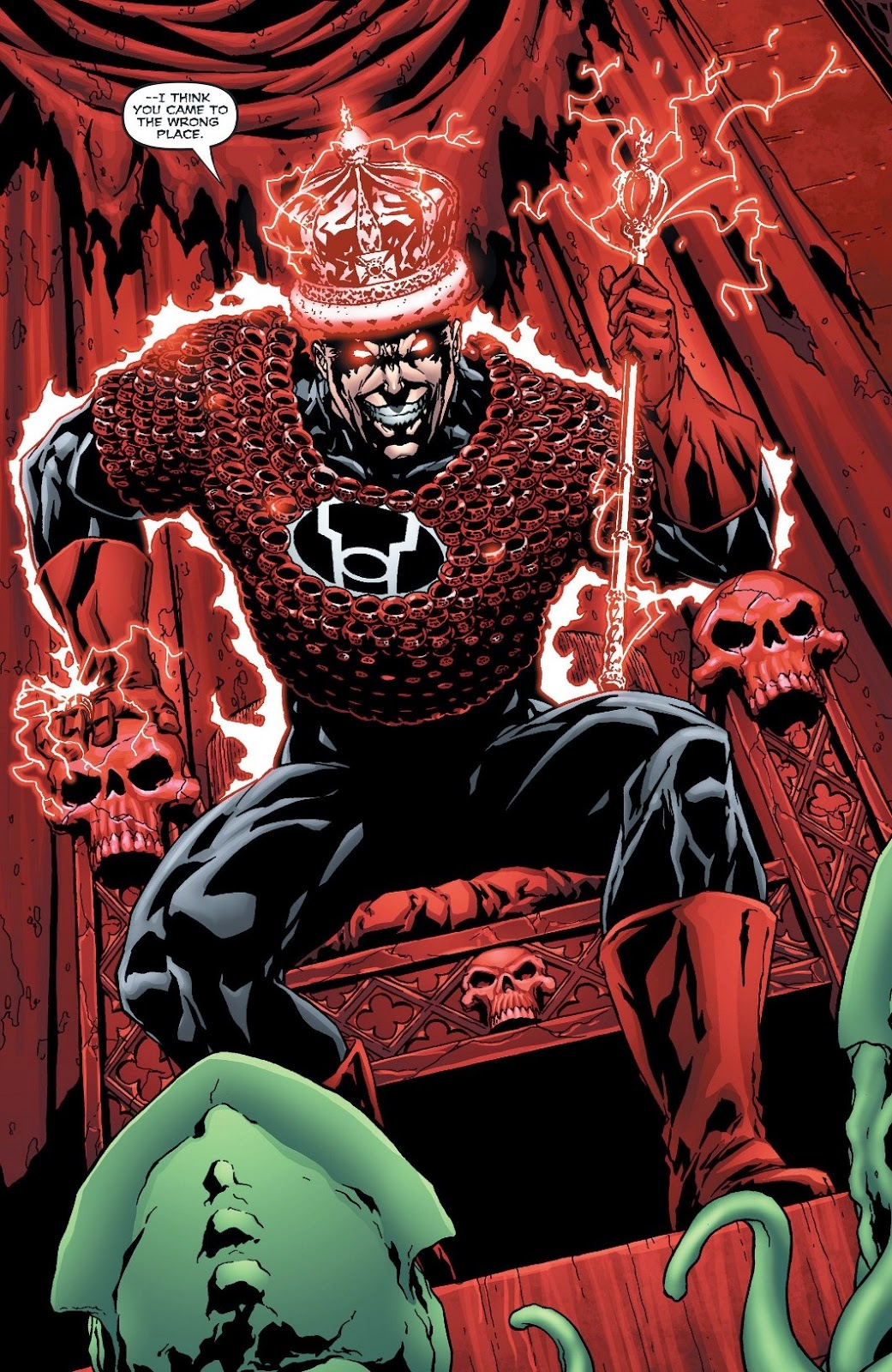 weird science dc comics red lanterns futures end 1 review and