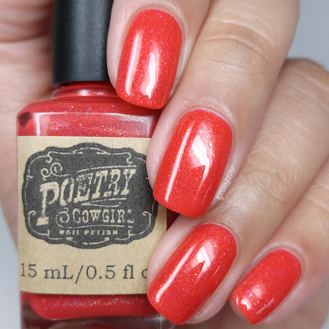 Poetry Cowgirl Nail Polish - Rocket's Red Glare