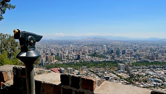 Clima em Santiago no mês de dezembro