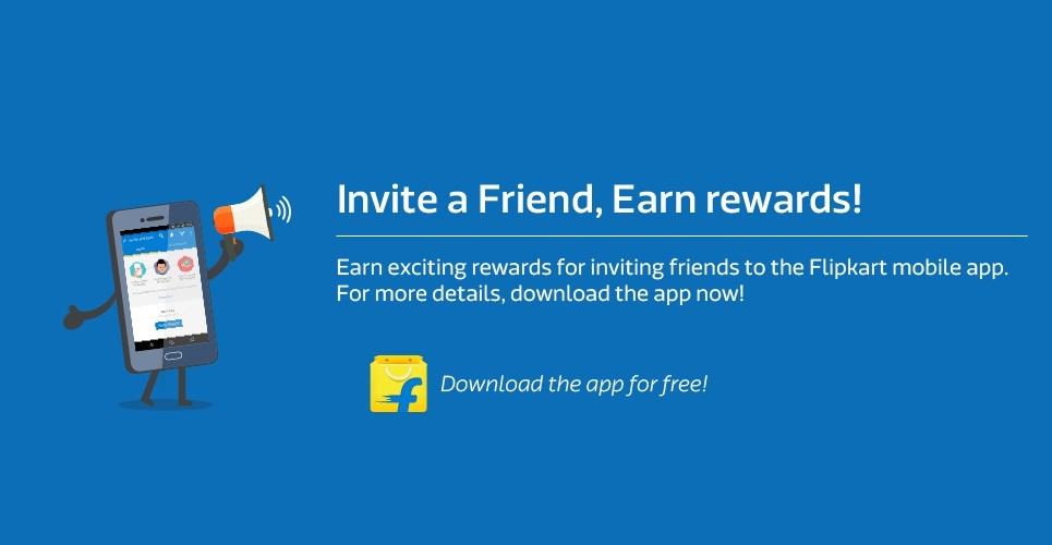 Flipkart Invite and Earn Offer
