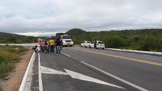 Criança morre atropelada na volta da escola em Remígio, diz PRF; outro acidente fez mais uma vítima fatal