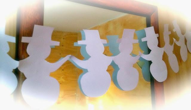 snowman paper chain template - bumper christmas craft box mrs fox 39 s life home crafts
